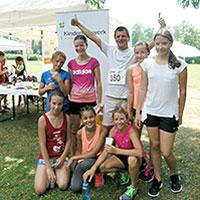 4.400 km beim Pond-Race erlaufen