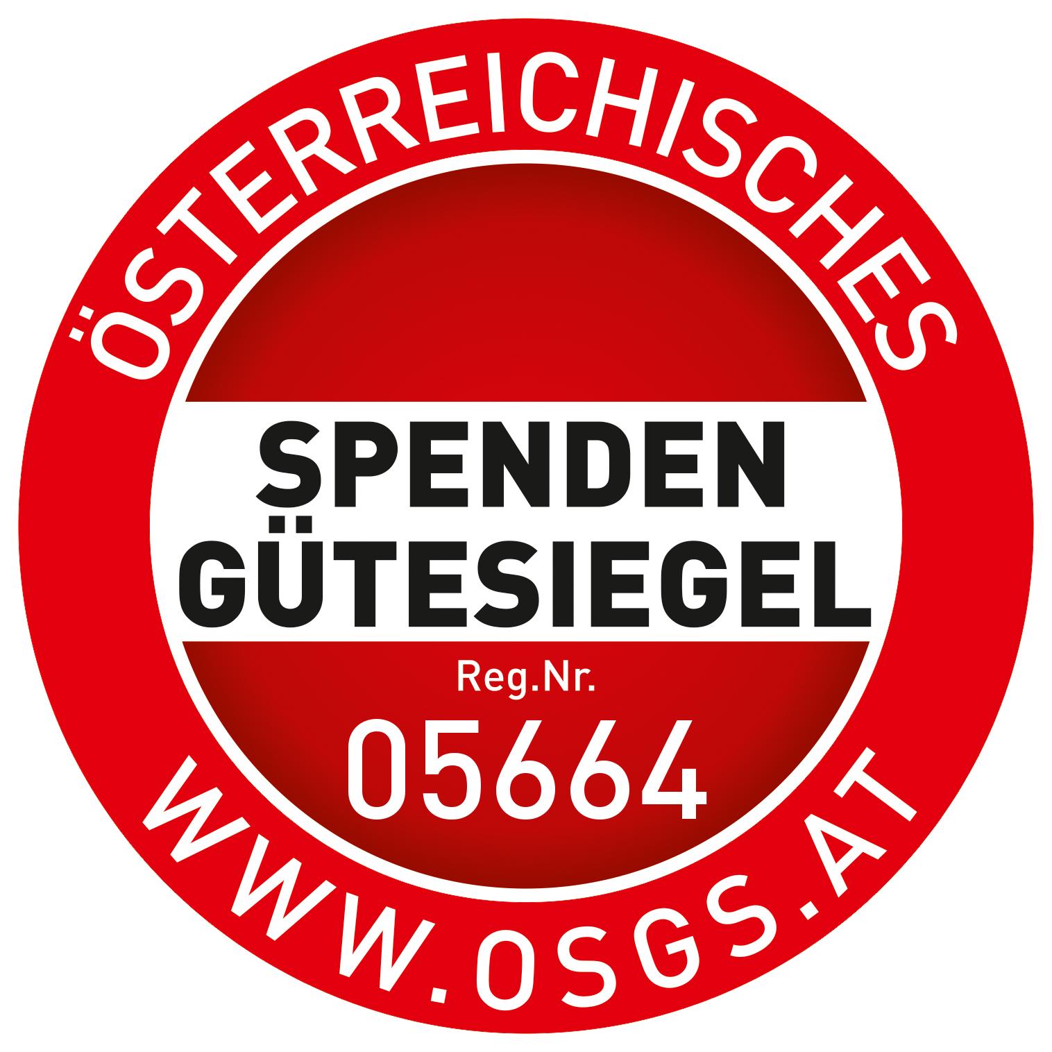 Spendengütesiegel Reg.Nr. 05664