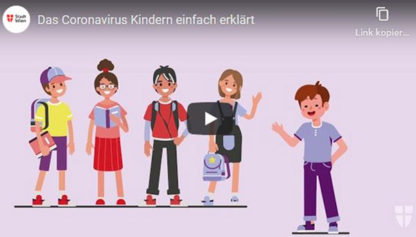 COVID Informationen für Kinder