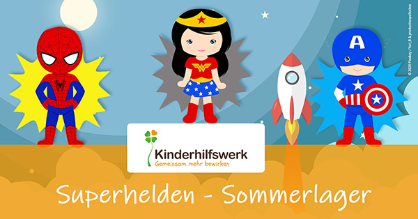 Superhelden - Sommerlager