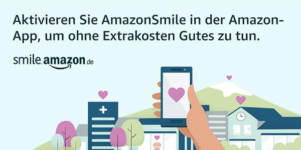 Smile Amazon in der App benutzen