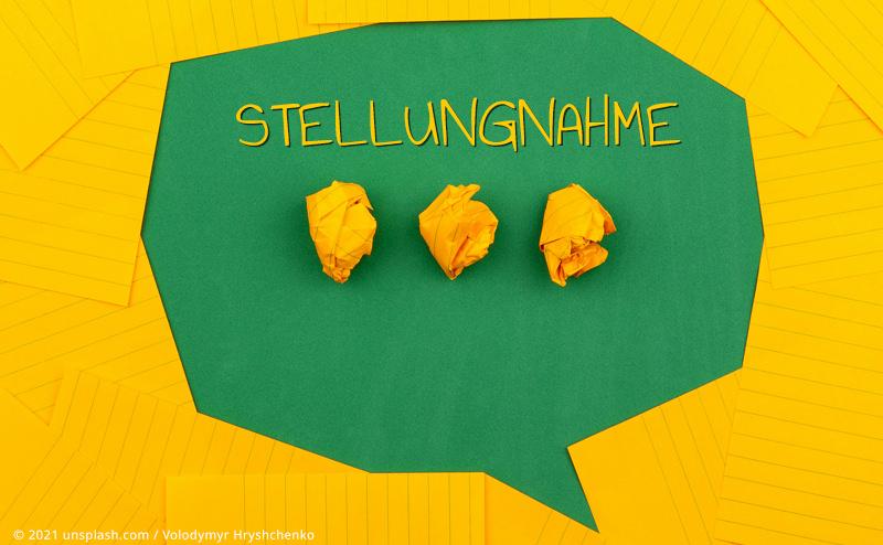 STELLUNGNAHME