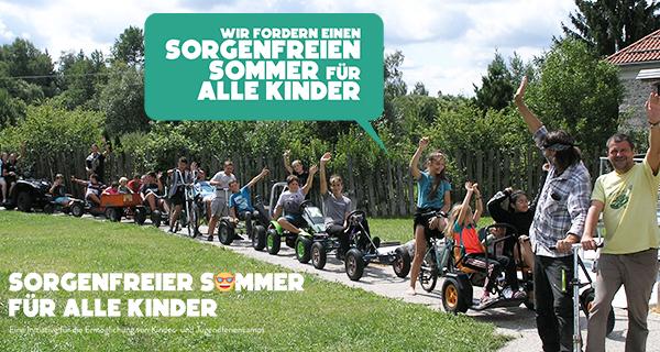 """Initiative """"Sorgenfreier Sommer für alle Kinder"""""""