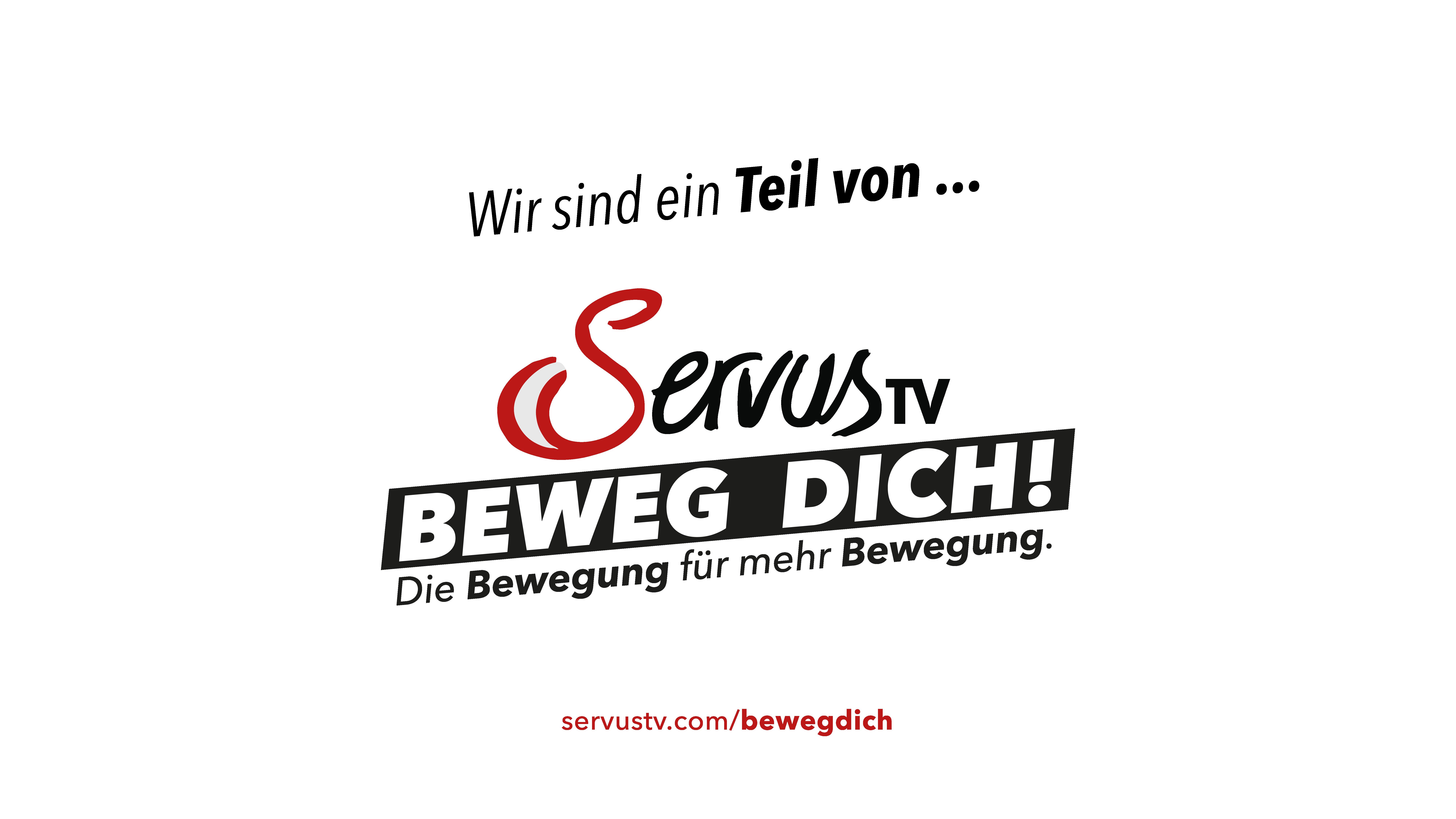 Servus TV - Beweg dich! Logo